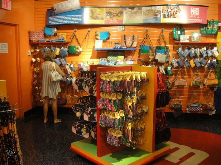 M&Ms store Las Vegas interior