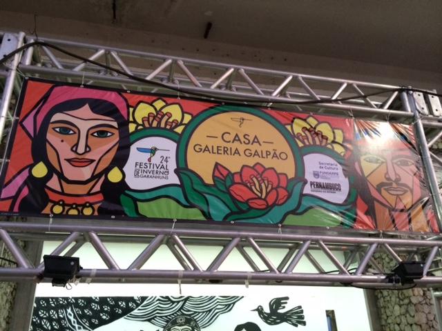 Festival de Inverno de Garanhuns - Casa Galeria Galpão fachada