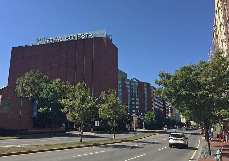 hotel em Boston capa