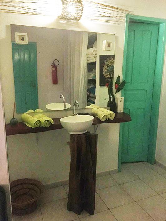 Banheiro do Restaurante Tuyn em Maragogi