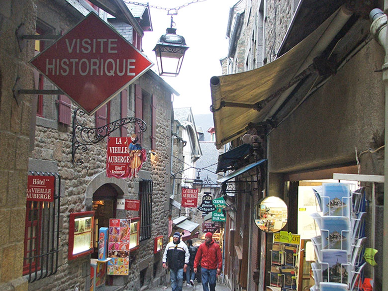 Rua de Mont Saint Michel