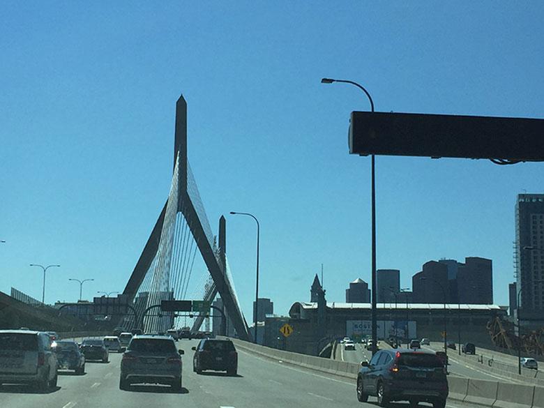 Carro em Boston