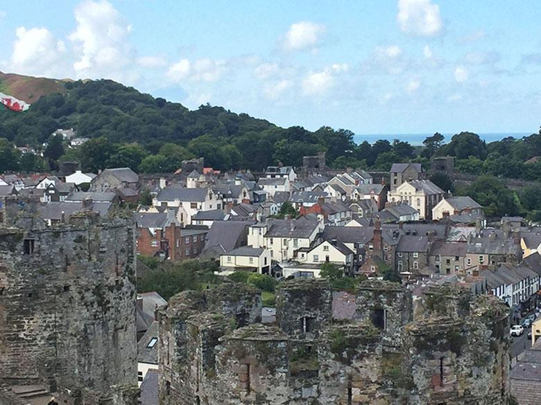 Cidade medieval de Conwy