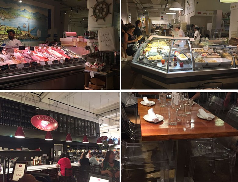 Ambientes do Eataly New York