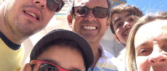 Las Vegas com os filhos