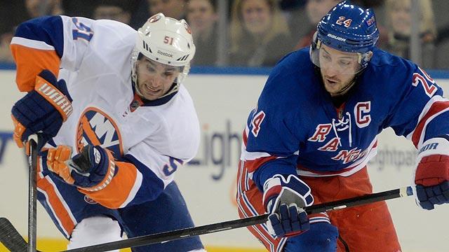 Rangers vs Islanders