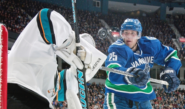 Mike Santorelli, Vancouver Canucks