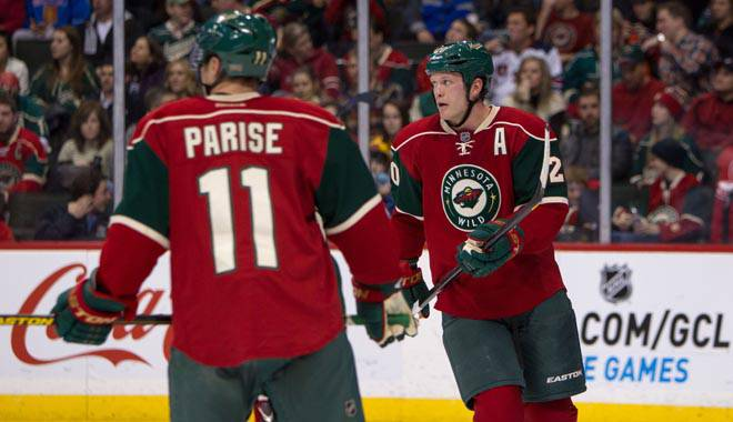 Zach Parise and Ryan Suter