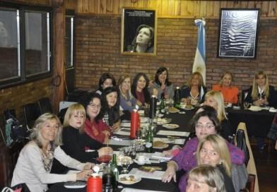 La intendenta Fassi en el  encuentro nacional,  paridad de género