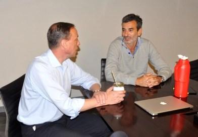 El diputado Arrieta se reunió con Florencio Randazzo