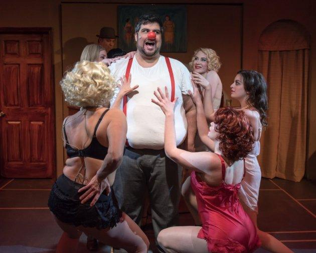 Patrick Ciamacco plays a vaudevillian clown with a voracious appetite for women. PHOTO | Andy Dudik