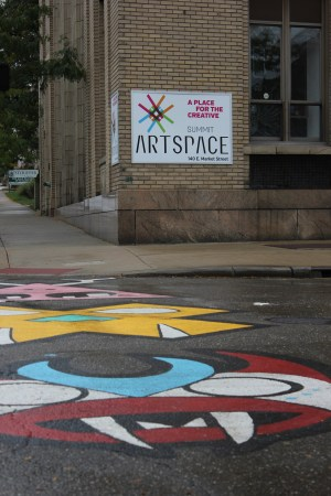 Summit Artspace in downtown Akron offers gallery, studio and office space to local artists and arts organizations.