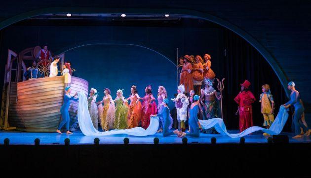 "The ensemble of Mercury Theatre's ""The Little Mermaid"". Photo | PRM Digital Productions"