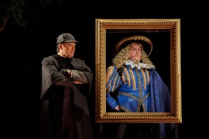 Rafael Untalan as Sherlock Holmes, left, and Brian Owen as Actor One. Photo | Roger Mastroianni