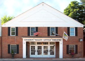The Chagrin Valley Little Theatre is a landmark in downtown Chagrin Falls. Submitted photo