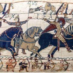 El tapiz de Bayeux, un cómic del siglo XI