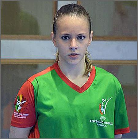 A karateca Rita Morgado