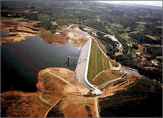 A barragem do Sabugal foi inaugurada há 15 anos