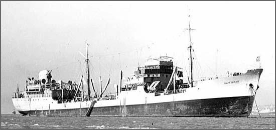 Há 73 anos foi construído no Alfeite o navio-tanque Sam Braz