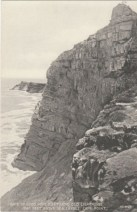 View of the old Cape Point lighthouse