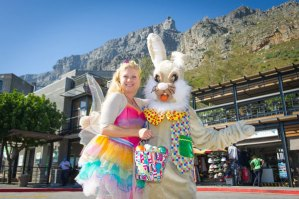 Easter Bunny at Table Mountain Cableway