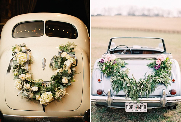 Cape Town Wedding Car Decor Flower