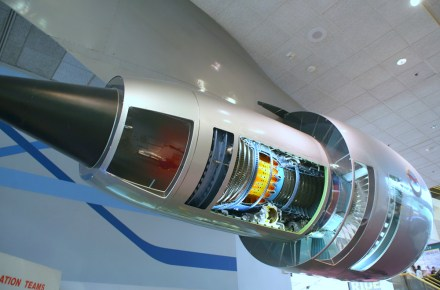 Motores de una aeronave