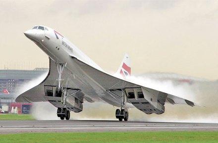 Avion comercial mas rapido del mundo, Concorde