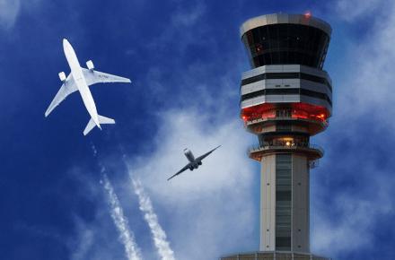 Choque de aviones