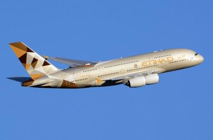 Airbus A380 de Etihad Airways