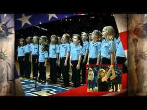 Caponi's Cannolis Orlando Magic National Anthem 2012