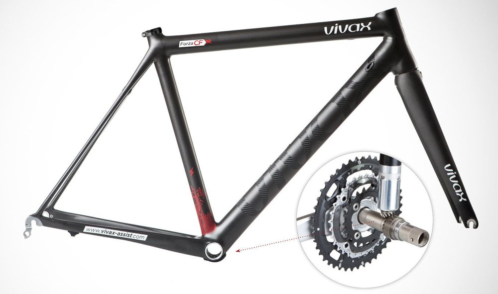 vivax hidden motor cycling bike
