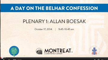 Belhar Confession Conference   Plenary 1  Allan Boesak   YouTube