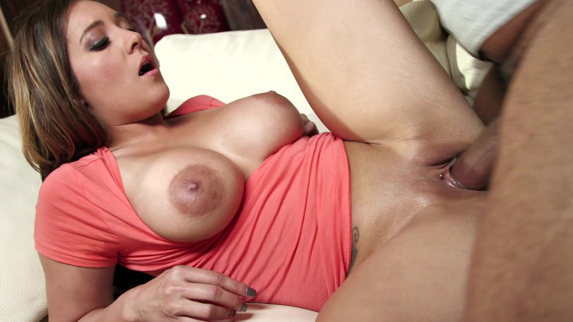 Scene 3 - Cute Brunette Babysitter Sucks and Fucks a Huge Black Cock  Starring:  Shane Diesel  Jean Michaels