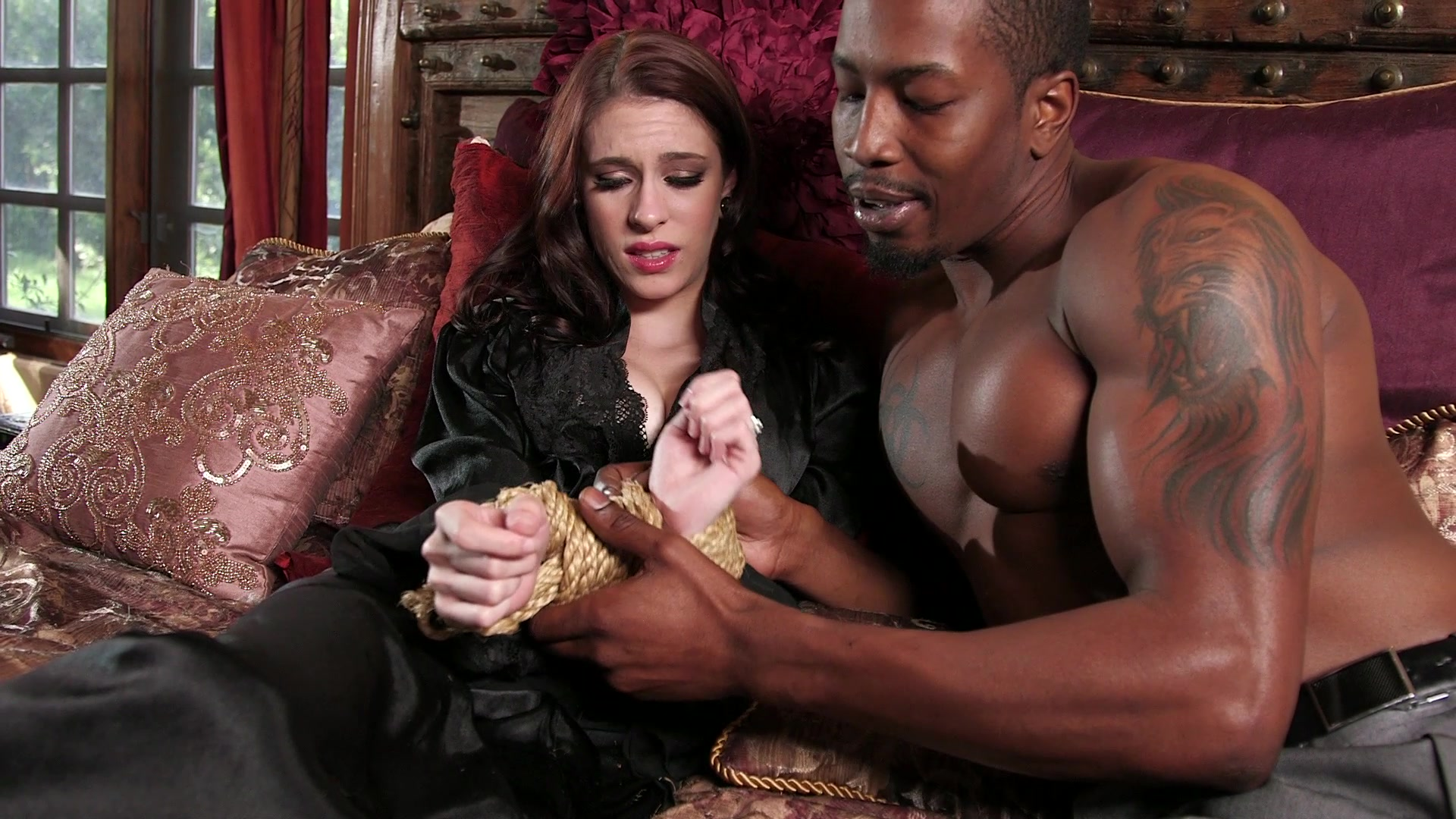 Adorable Anna De Ville Sucks His Cock and Takes It in Her Pussy, Starring:  Anna De Ville