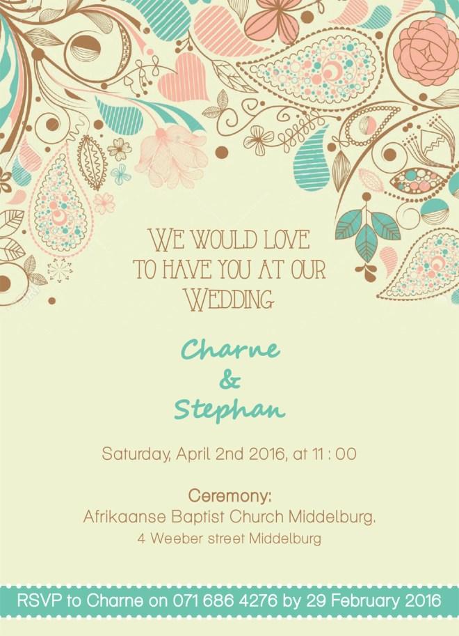 Charne wedding invitation 2-1