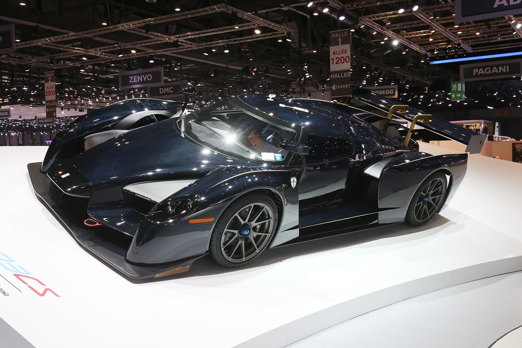 The quickest supercar money can buy? Up close with the Scuderia Cameron Glickenhaus SCG 003S ...