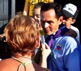 José Gregorio Vielma Mora, candidate of the PSUV-GPP