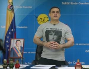 Anzoátegui Governor Tarek William Saab, not seeking re-election
