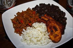 Warning: The criollo elements of this pabellón may differ.