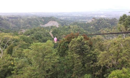 1.3 km. Delta Zipline the Longest Zipline in Asia, Butuan City