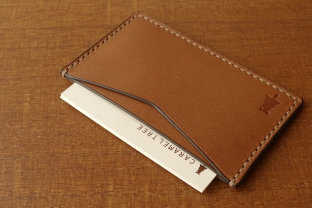 Business-Card-Case(slim-type)brown