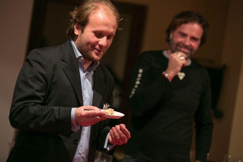 Gian Luca Mazzella con Simone Bonini