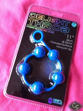 Delight Silicone Anal Beads 22 mm review