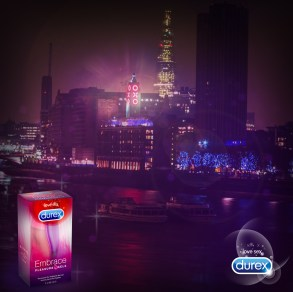 Durex Embrace launch at the OXO Tower London UK
