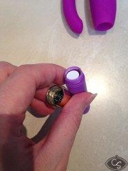 Rocks Off Mini Rock Chick G Spot & Clitoral Vibrator