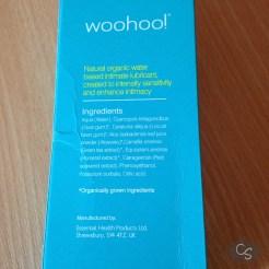 woohoo! Water Based Organic Intimate Lubricant UK Review