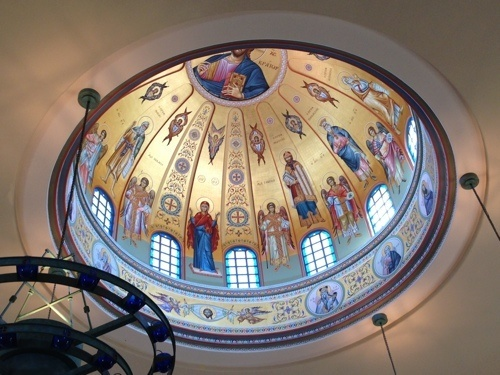 St. John the Baptist Greek Orthodox Church Dome