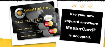 Sign up for the Starbucks Paycard from Global Cash Card