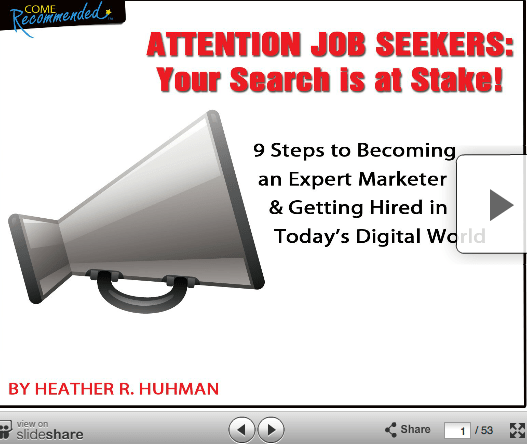 9 Steps to Getting Hired in the Digital Age